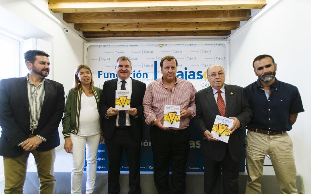 Presentación del libro 'Balón de Cádiz, 75 años de historia y estadística (1940-2015)'