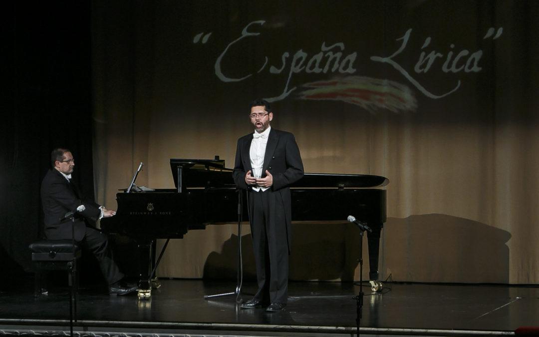 Teatro Lírico Andaluz une poesía y lírica con 'España lírica' en la Fundación Cajasol