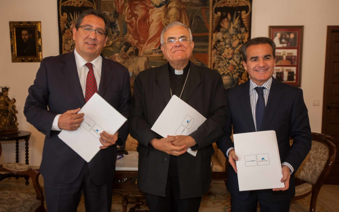 'Una Visita Real' al Palacio Episcopal de Córdoba de la mano de la Obra Social 'La Caixa' y la Fundación Cajasol