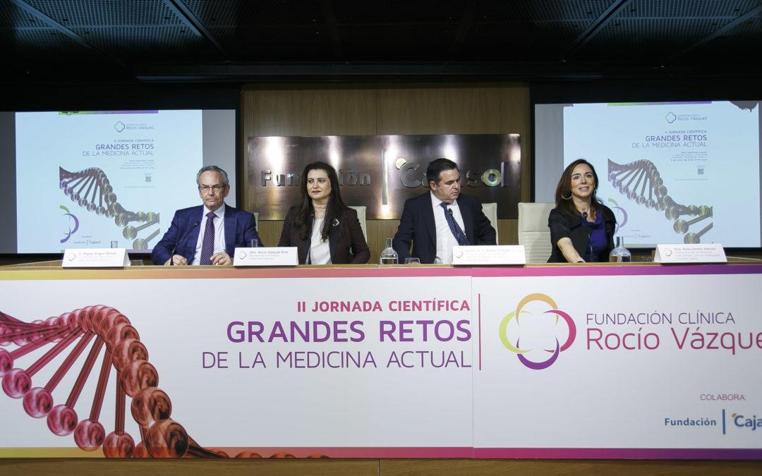 'Los grandes retos de la medicina actual', a debate en la sede de la Fundación Cajasol