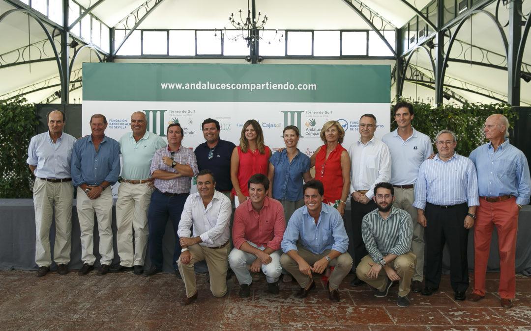 III Torneo de Golf Andaluces Compartiendo a beneficio del Banco de Alimentos de Sevilla