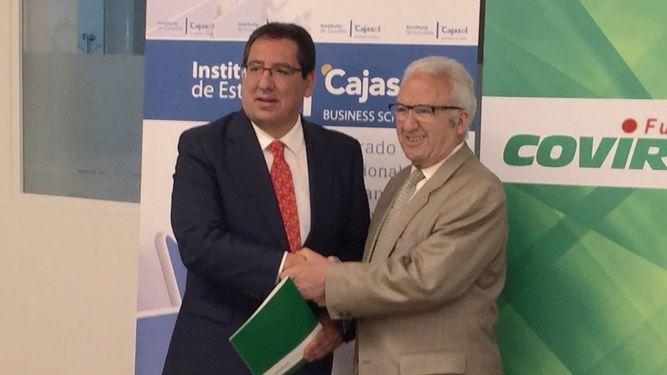 La Fundación Cajasol y la Fundación Covirán, unidos para potenciar la profesionalización de fundaciones y asociaciones de la zona oriental de Andalucía