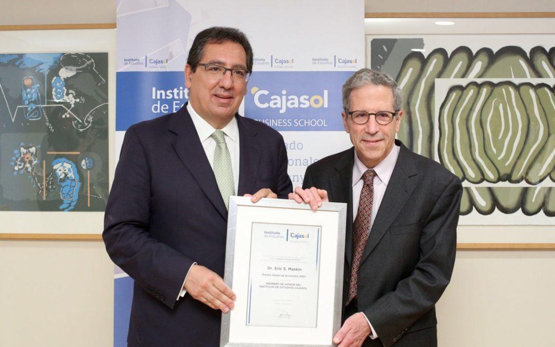 Eric Stark Maskin, Premio Nobel de Economía 2007, inaugura el nuevo ciclo de conferencias de la Fundación Cajasol
