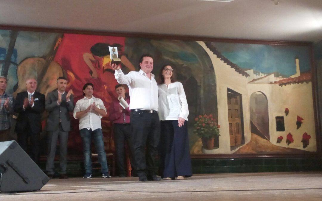 Antonio Ortega hijo, ganador del II 'Colón Flamenco 2016'