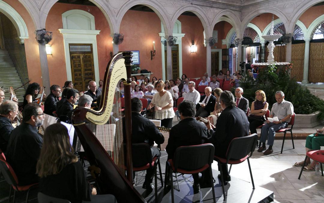Concierto a beneficio de los niños con cáncer infantil en la Fundación Cajasol