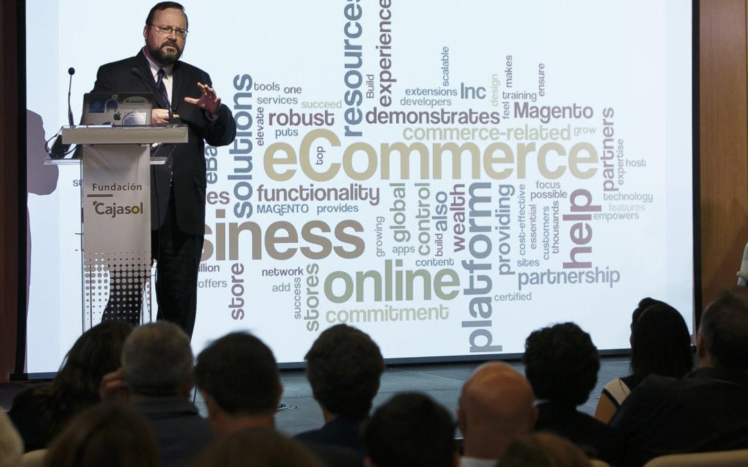 Conferencia de David Orban 'El poder disruptivo de la descentralización' en la Fundación Cajasol