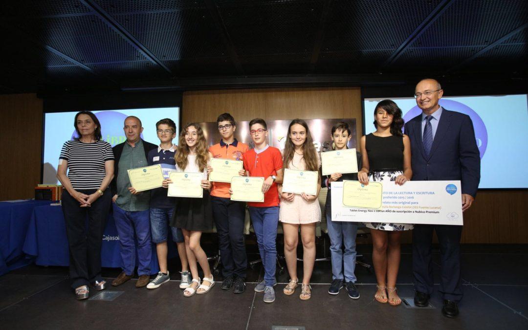Entrega de premios del III certamen escolar 'Mi libro preferido' en la Fundación Cajasol