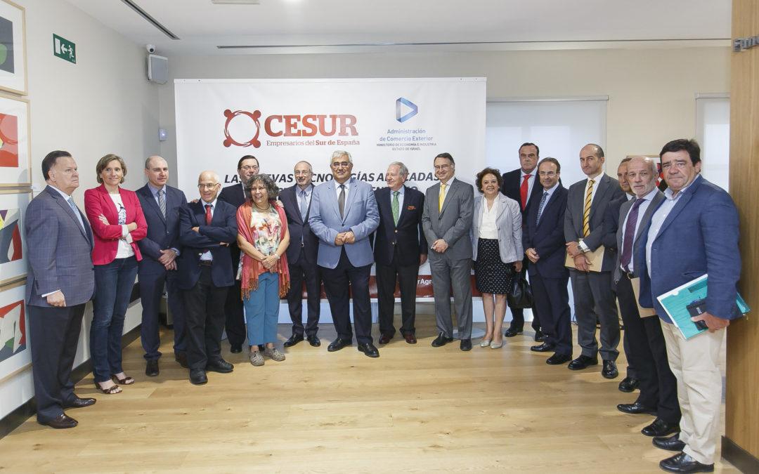 Seminario 'Las nuevas tecnologías aplicadas al sector agroalimentario' en la Fundación Cajasol