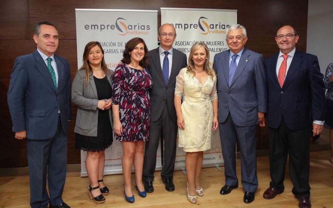 Presentación de la Asociación de Empresarias Hispalenses en la Fundación Cajasol