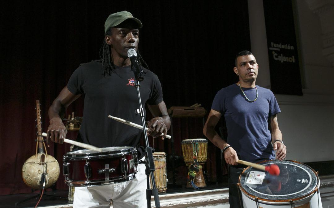 Números vibrantes y sorprendentes en el concierto didáctico 'El mundo de la percusión'