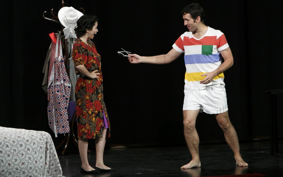 Representación de la obra 'Tan lejos, tan cerca', producción de la compañía de Blanca Marsillach