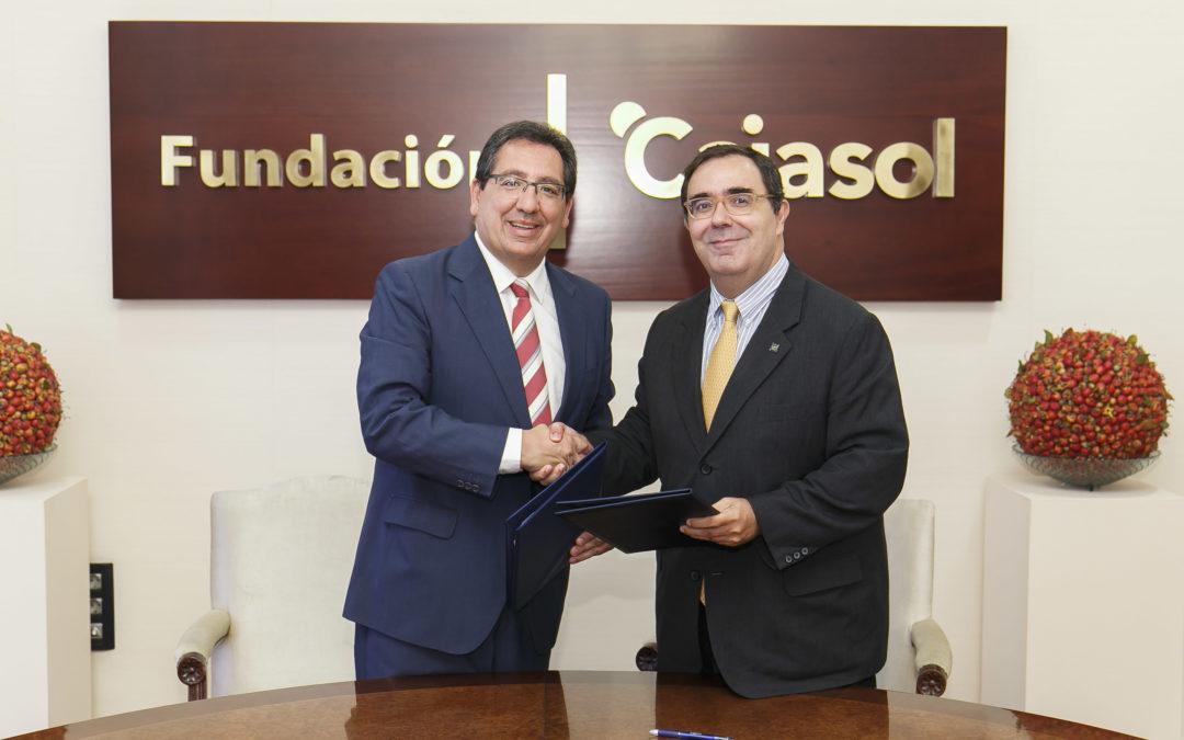 La Fundación Cajasol apoyará actividades formativas y de emprendimiento en la Universidad Pablo de Olavide