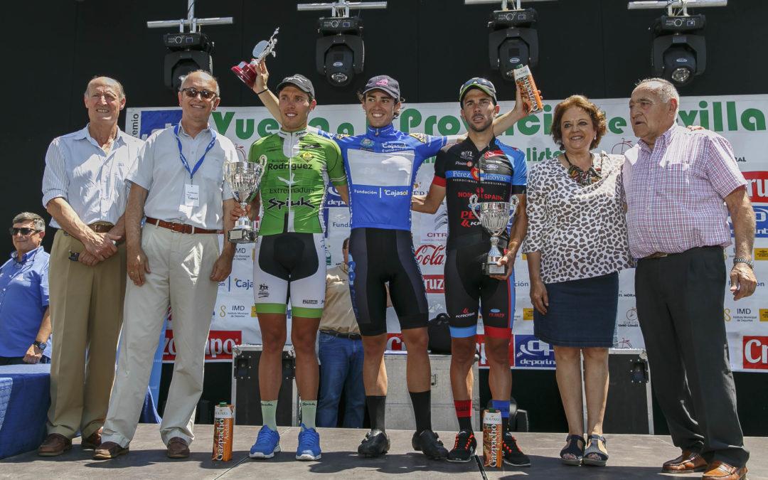 Gonzalo Serrano se impone en la XI Challenge Vuelta Ciclista a la Provincia de Sevilla