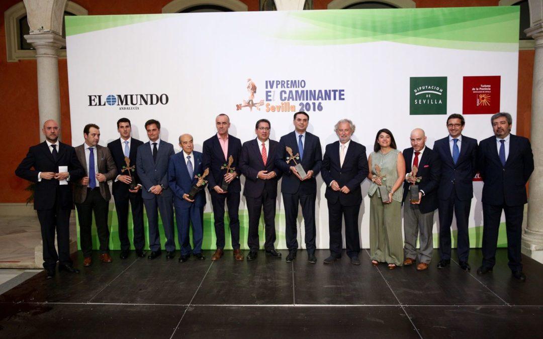 Entrega de los IV Premios 'El Caminante' en la Fundación Cajasol