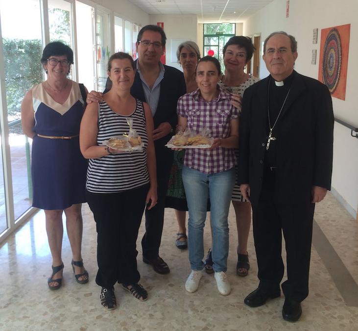 La Fundación Cajasol y el Arzobispado de Sevilla mantienen su compromiso con el único centro en España para personas con sordoceguera