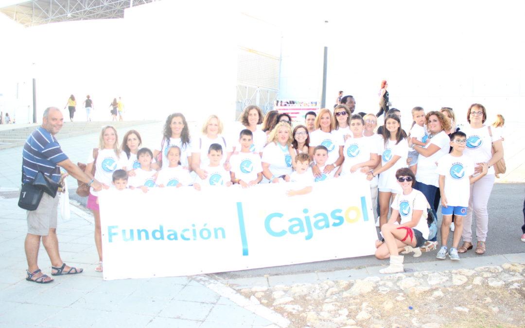 Diferentes colectivos sociales disfrutan del concierto de Alejandro Sanz en Huelva gracias a la Fundación Cajasol
