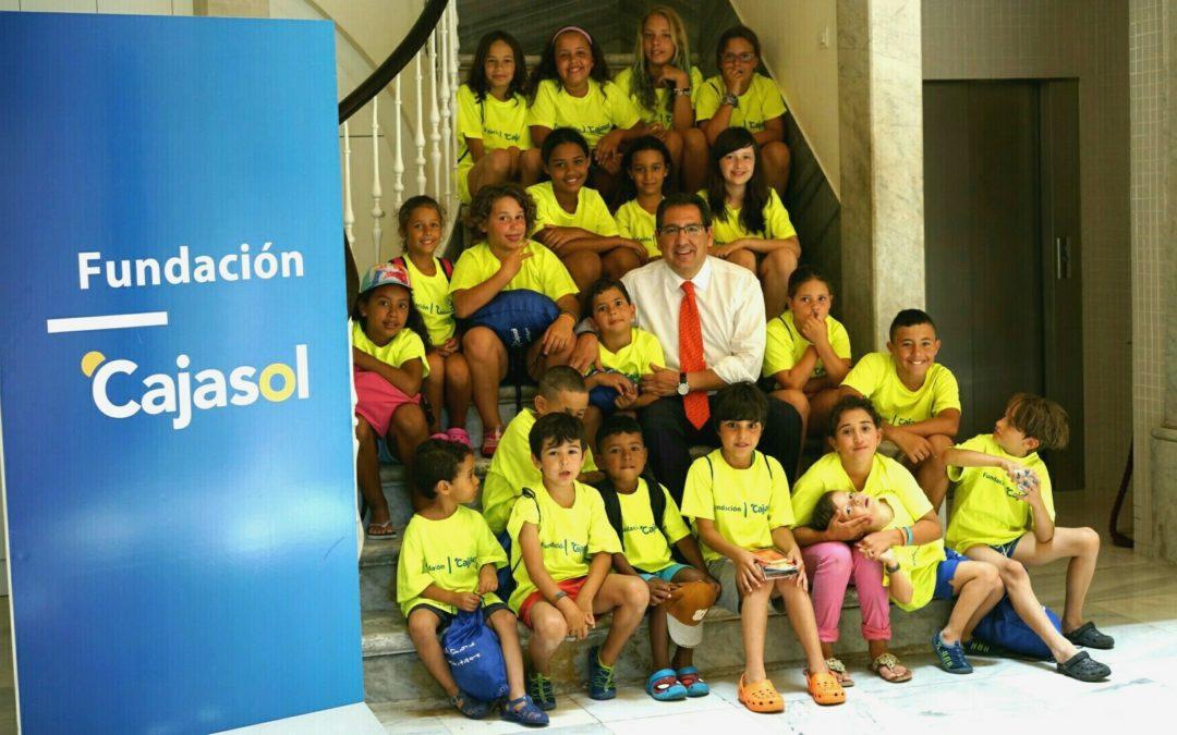 Un verano de formación y diversión para más de 150 niños en el Sunset Campus de la Fundación Cajasol