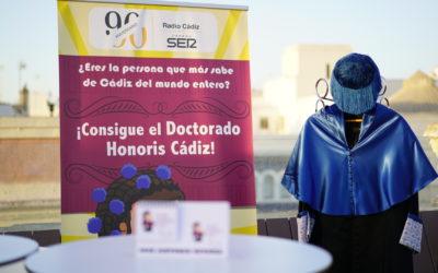 Recta final del concurso 'Doctorado Honoris Cádiz 2018'