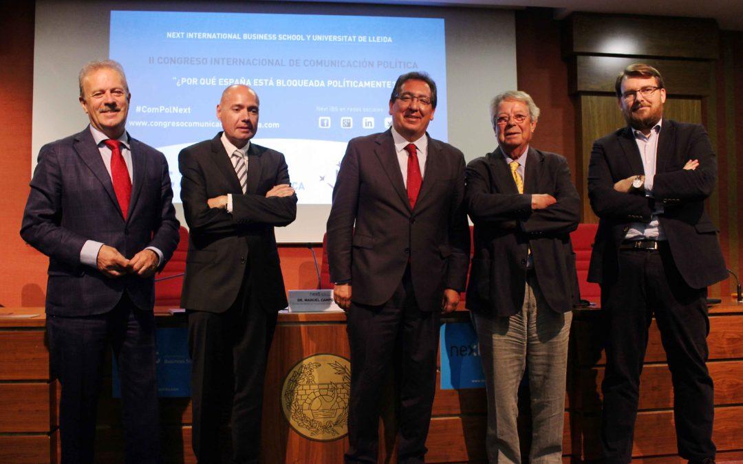Antonio Pulido interviene en el II Congreso Internacional de Comunicación Política de Next IBS