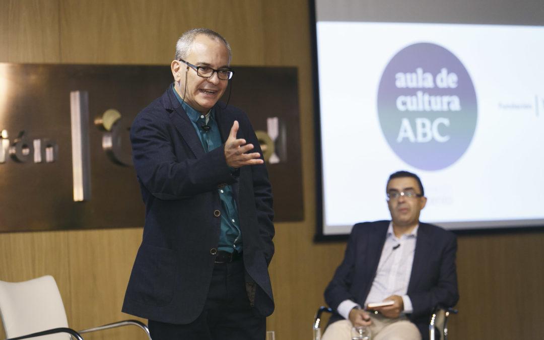 Pablo D'Ors diserta sobre 'El arte de la meditación. La aventura del silencio' en el Aula de Cultura de ABC desde la Fundación Cajasol