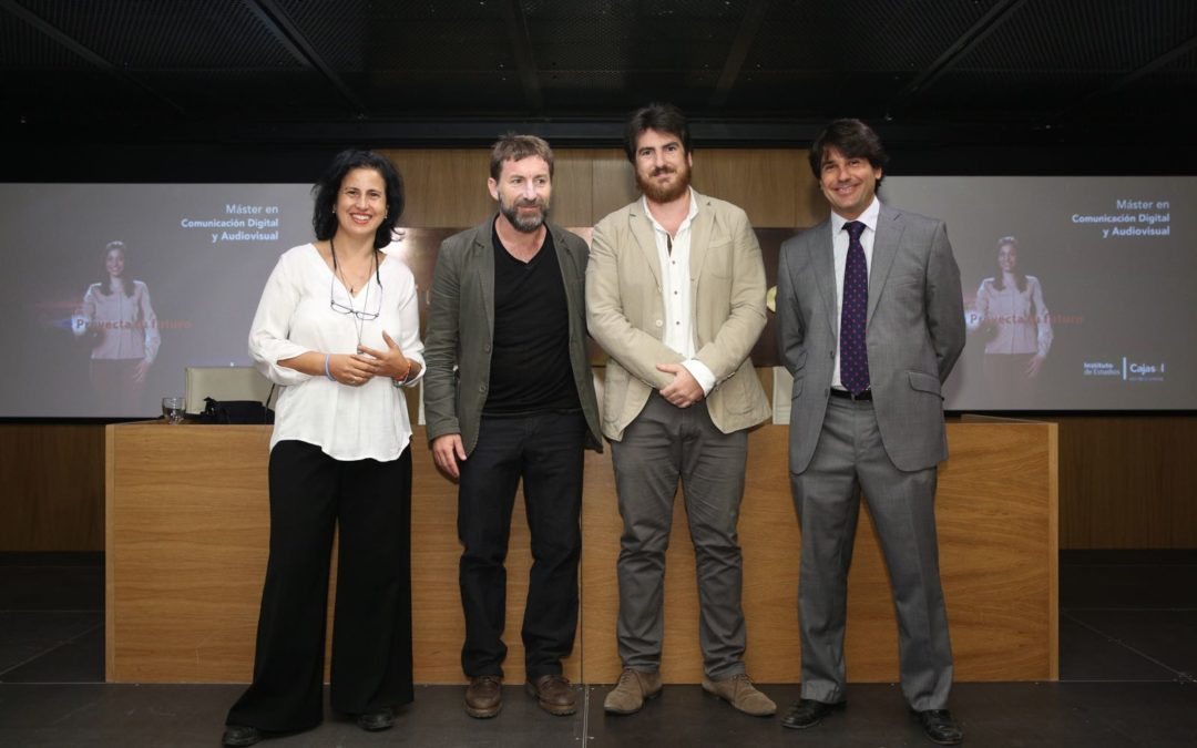 Antonio de la Torre presenta el nuevo Máster en Comunicación Digital y Audiovisual del Instituto de Estudios Cajasol