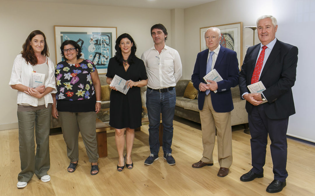 Presentación del libro 'Un columpio en el desierto' en la Fundación Cajasol