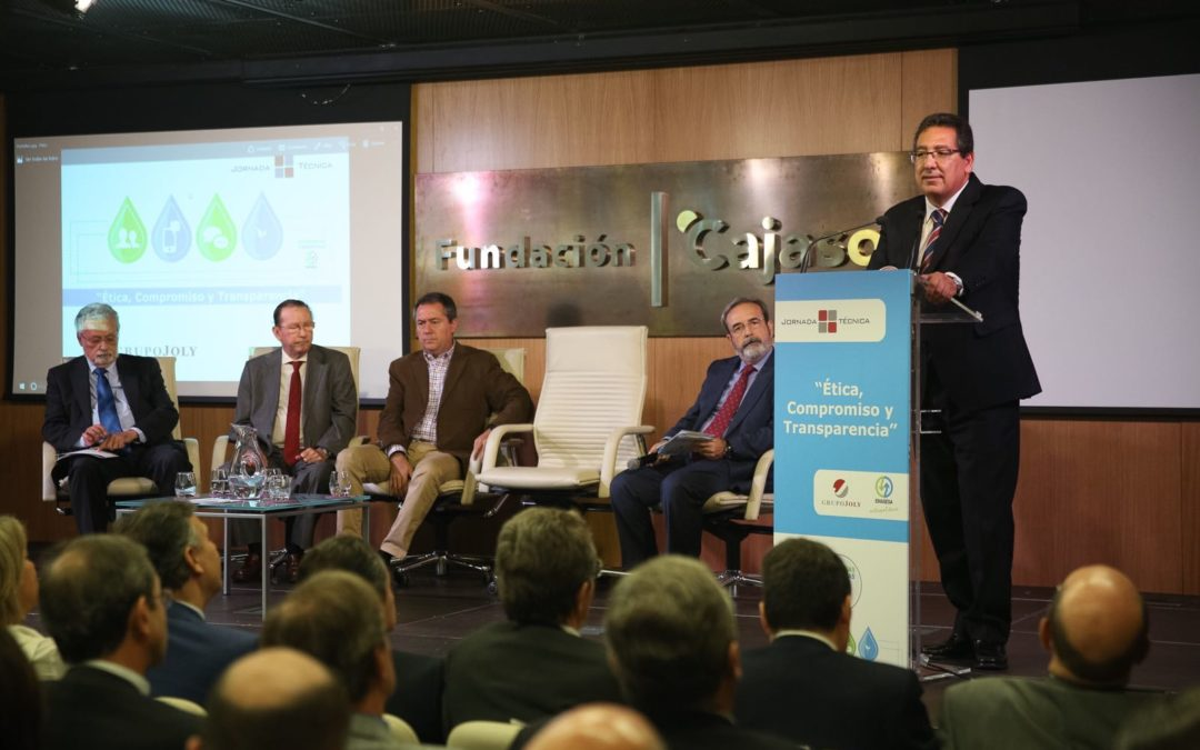 Jornada técnica 'Ética, compromiso y transparencia' en la Fundación Cajasol
