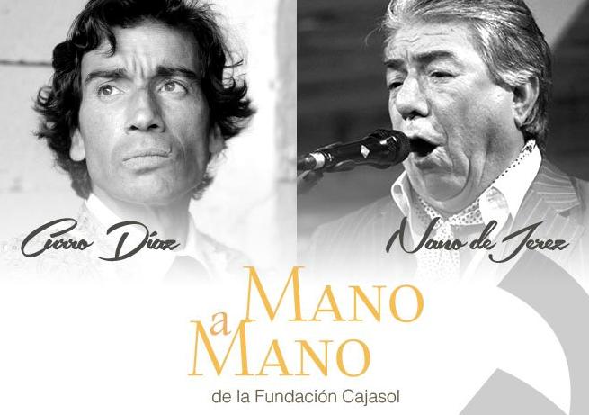 Curro Díaz y Nano de Jerez, protagonistas del 39º 'Mano a mano' de la Fundación Cajasol