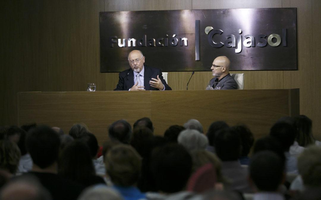 Juan Eslava Galán analiza 'los caminos del Quijote en tiempos de Cervantes' desde la Fundación Cajasol