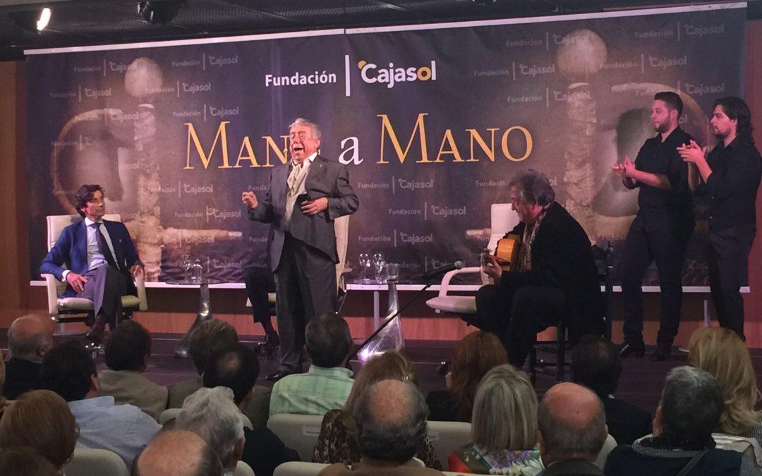 Curro Díaz y Nano de Jerez ejemplifican la comunión entre el toreo y el cante en el 39º Mano a Mano de la Fundación Cajasol
