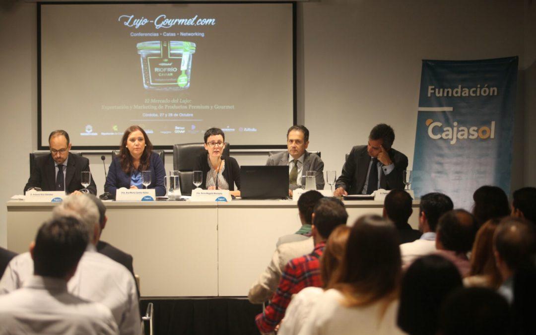 El Mercado del lujo: Exportación y Marketing de Productos Premium y Gourmet, a debate en la sede de la Fundación Cajasol en Córdoba