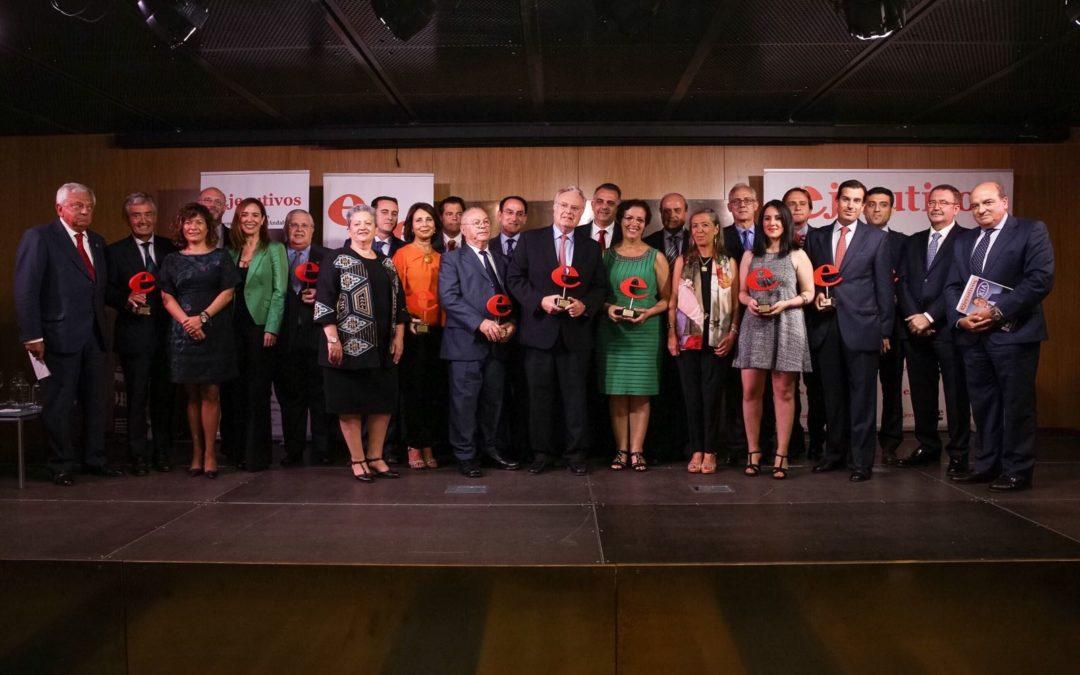 Entrega de los XI Premios Ejecutivos Andalucía en la Fundación Cajasol
