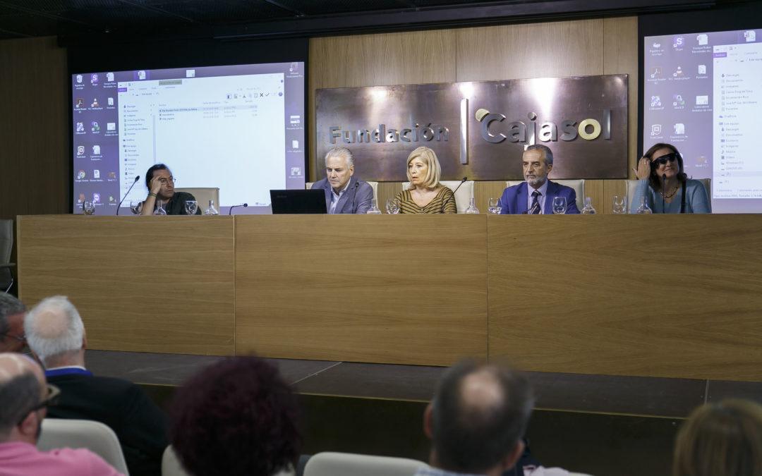 Mesa redonda e informativa por el Día Mundial de la Visión en la Fundación Cajasol: 'Stop ceguera evitable'