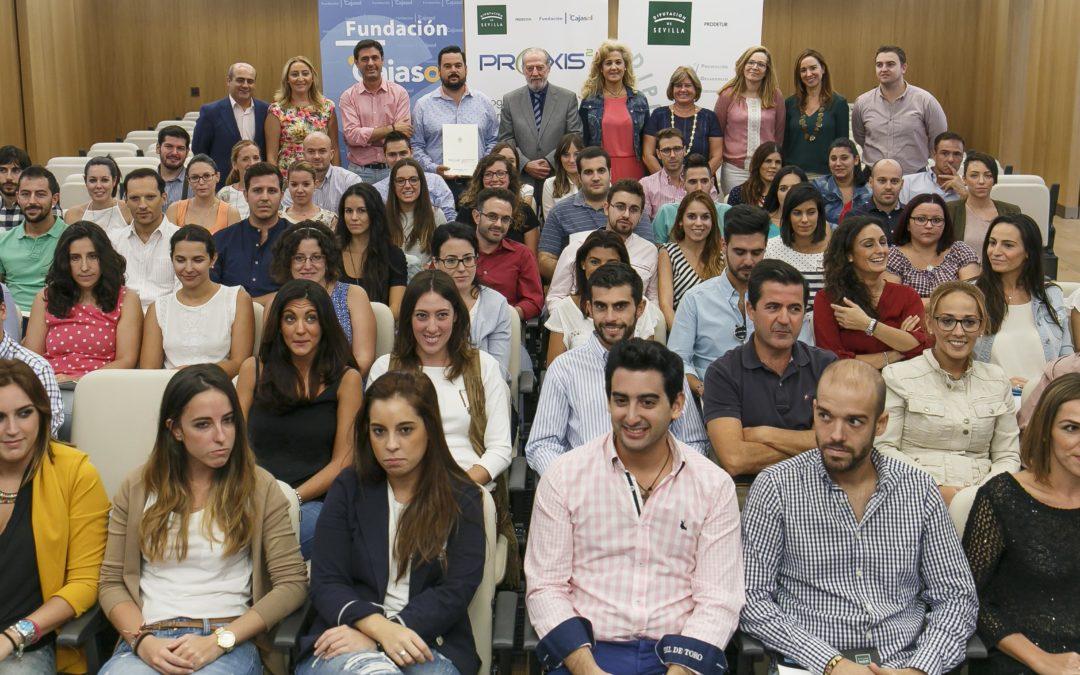 Más de 60 jóvenes universitarios participan en el VI Programa de Promoción de Empleo Pr@xis