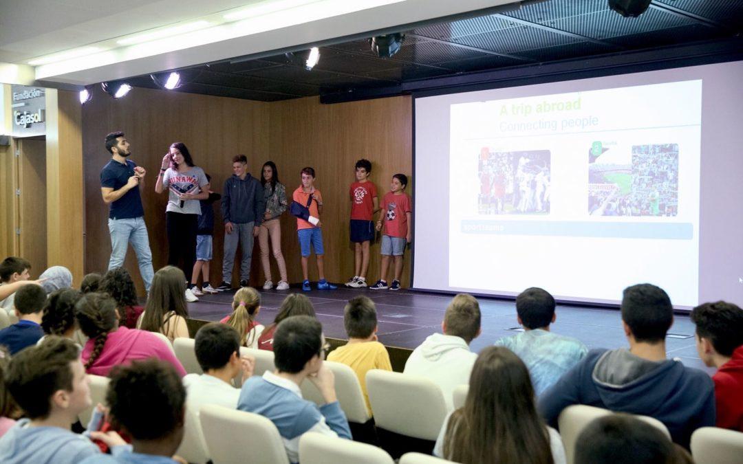 Los alumnos ponen a prueba sus conocimientos en inglés con 'A trip abroad'