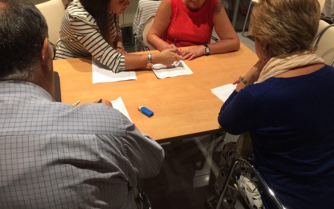 Taller de estimulación de la memoria para el bienestar social y emocional de los mayores en Córdoba