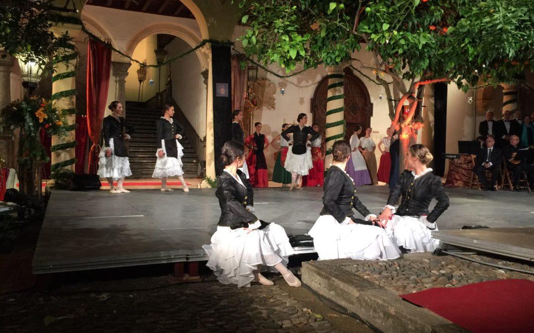El espectáculo 'Una visita real', patrocinado por la Fundación Cajasol, cierra el ciclo cultural 'Córdoba para ti'