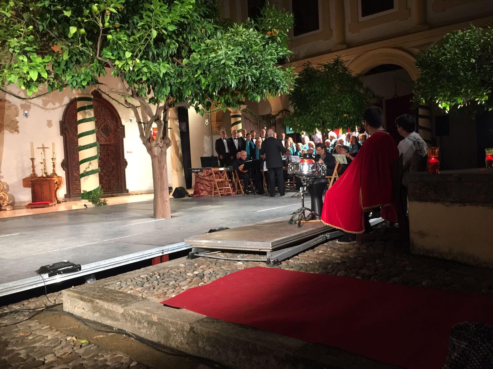 Representación de 'Una vida real' en el Palacio Episcopal de Córdoba