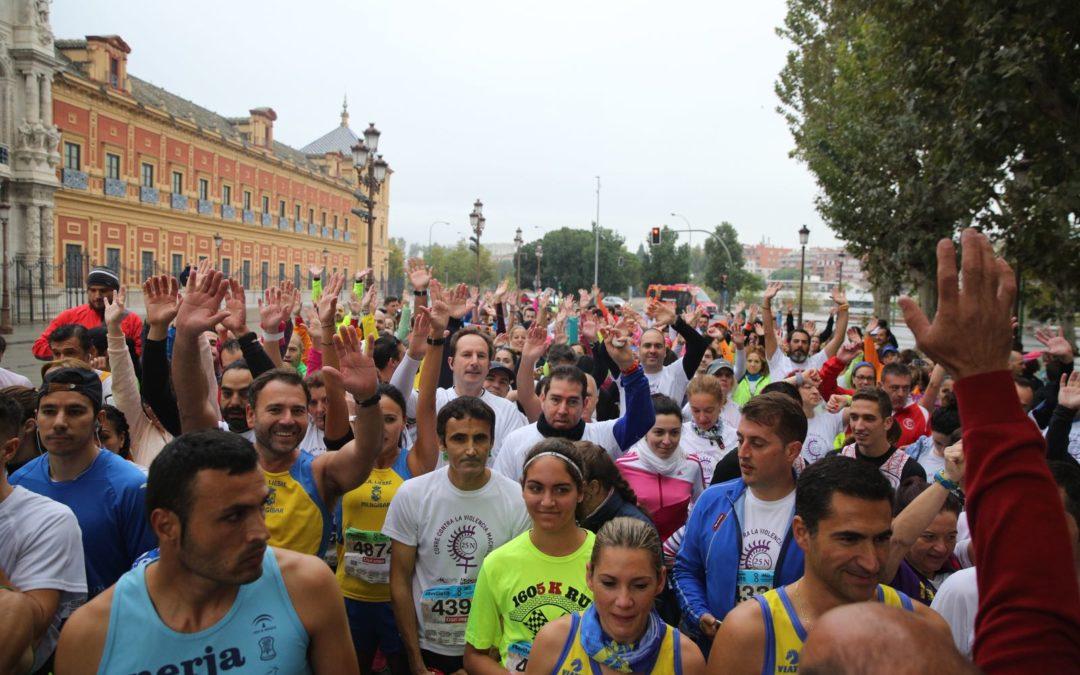 La Fundación Cajasol se une a la II Carrera contra la Violencia Machista en Sevilla