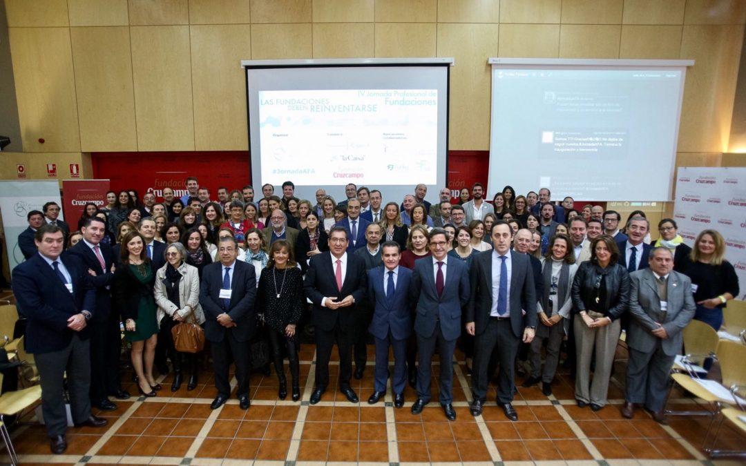 Más de 150 personas participan en la IV Jornada Profesional de Fundaciones para aportar nuevas perspectivas y compartir experiencias