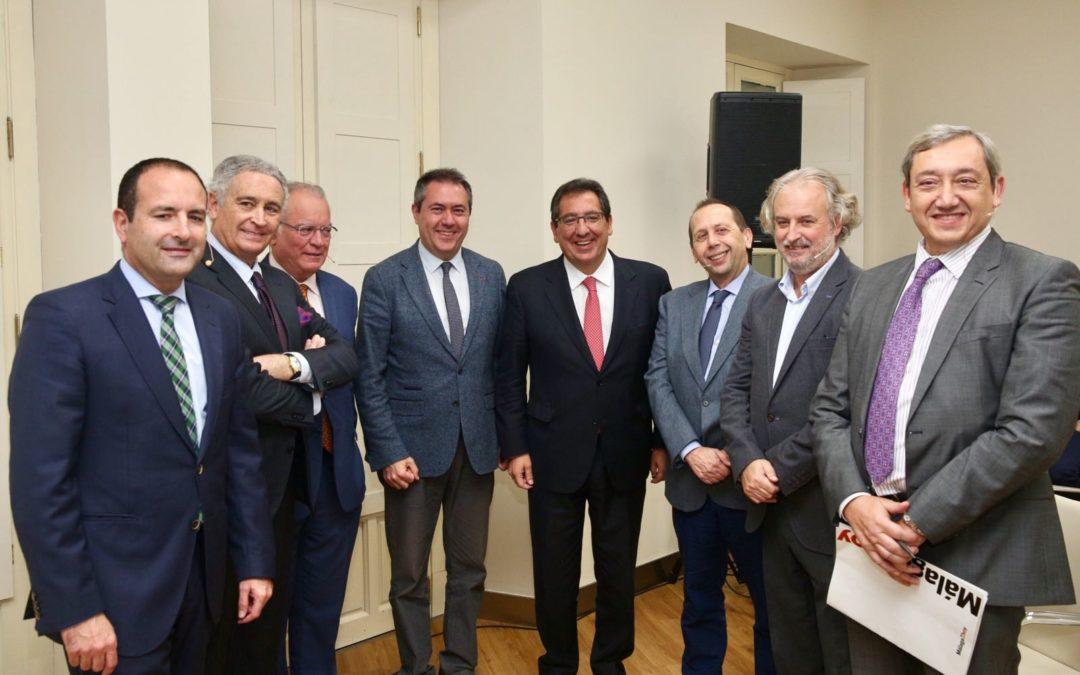 La Fundación Cajasol, escenario de la búsqueda de alianzas entre las grandes ciudades andaluzas