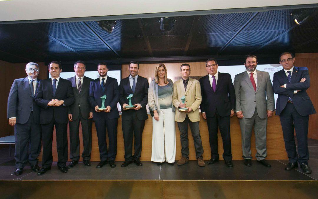 Entrega de los IV Premios Manuel Losada Villasante en la Fundación Cajasol