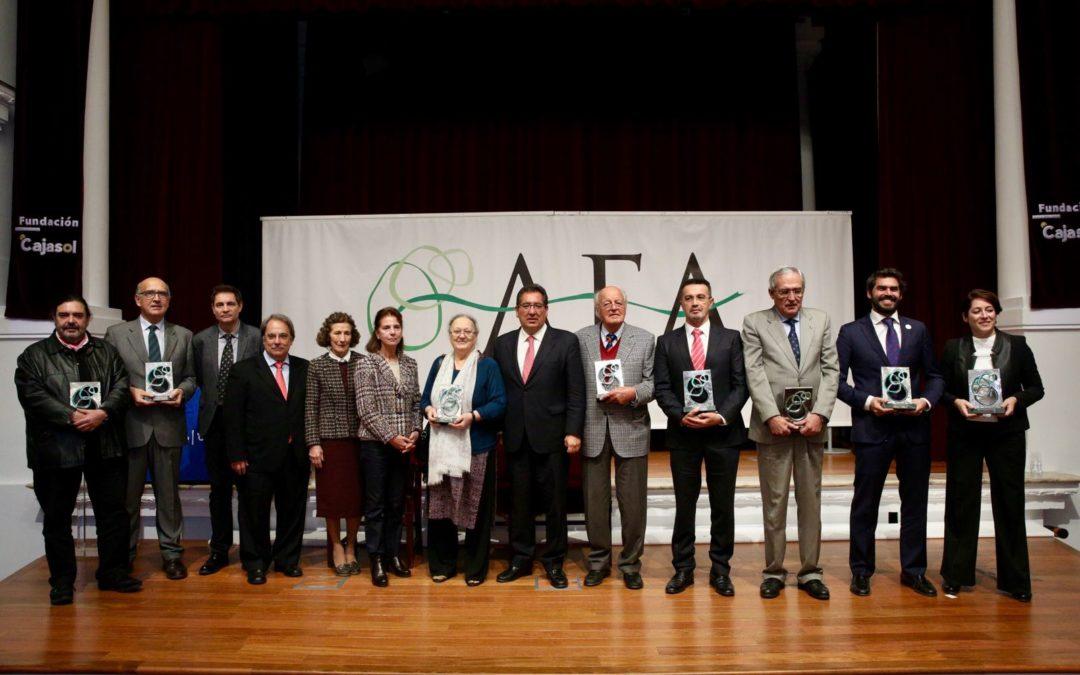 Entrega de los VI Premios Asociación de Fundaciones Andaluzas (AFA) en la Fundación Cajasol