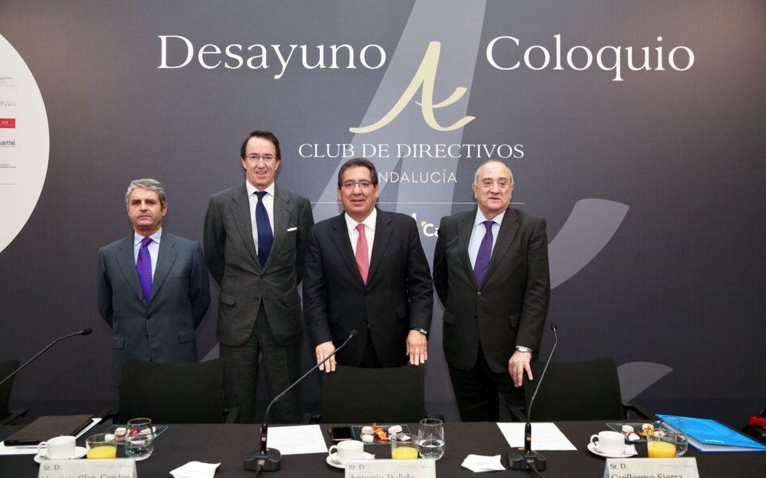 Mauricio González-Gordon, en el Desayuno-coloquio del Club de Directivos Andalucía