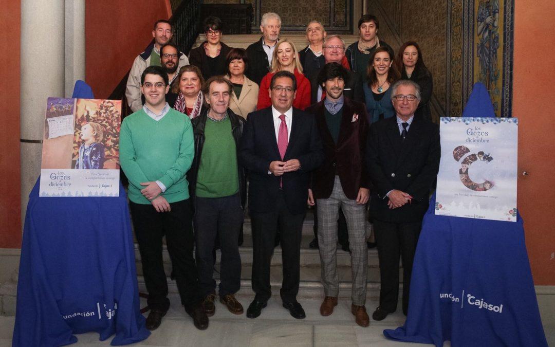 La Fundación Cajasol pone en marcha el II Concurso '¿Le damos color a esta Navidad?'