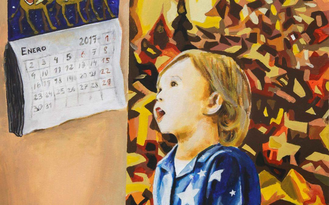 La obra 'La Eterna ilusión', de Carlos García Romo, será el cartel de 'Los Gozos de Diciembre' de la Fundación Cajasol
