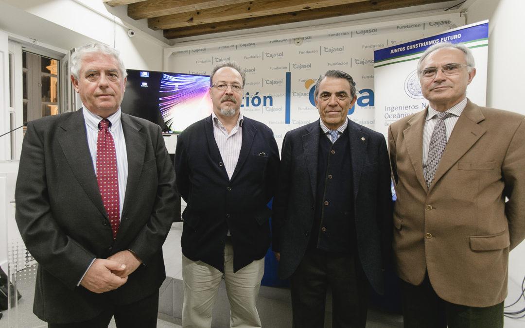 Ciclo de conferencias de Navantia Cádiz con motivo de su 125º aniversario en la Fundación Cajasol