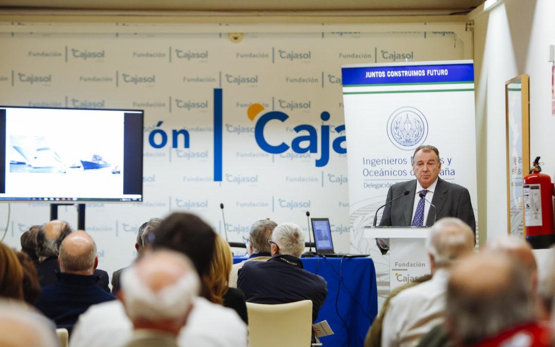 Conferencias sobre Navantia en la Fundación Cajasol con motivo de su 125 Aniversario