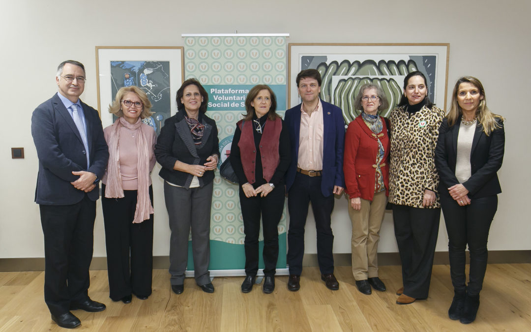 Homenaje al Voluntariado de Sevilla en la Fundación Cajasol