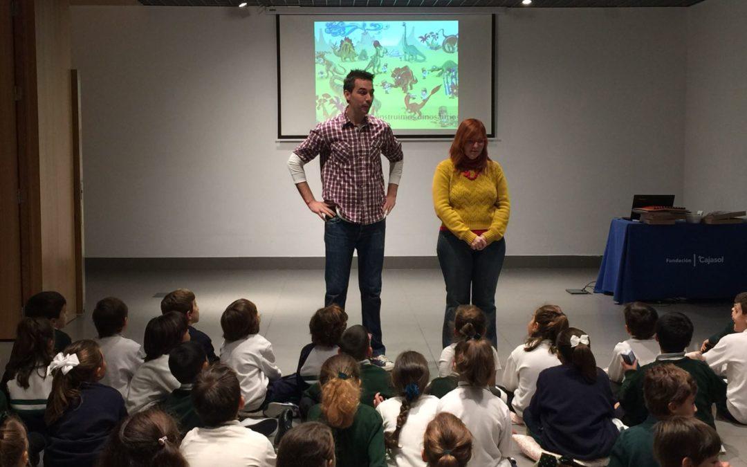 El programa 'Diveraprende' sigue su curso en la sede de la Fundación Cajasol en Córdoba hasta el mes de diciembre